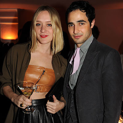 Chloë Sevigny and Zac Posen