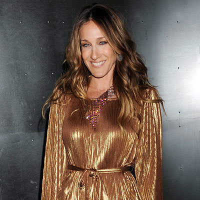 Fall 2010 Fashion Week - Sarah Jessica Parker - Halston Presentation