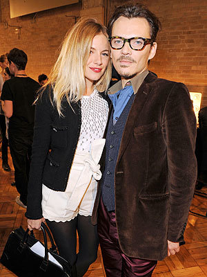 Sienna Miller and Matthew Williamson