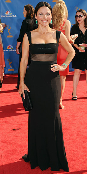 2010 Emmy Awards Fashion - Julia Louis-Dreyfus