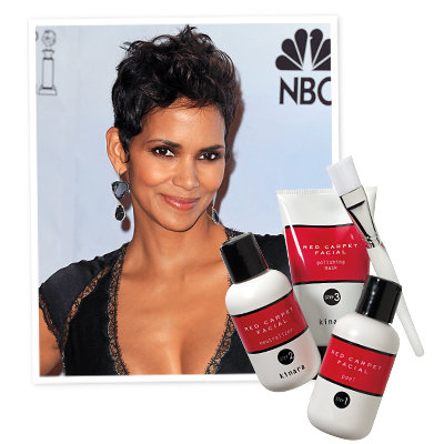 Halle Berry - Kinara Red Carpet facial - How to Get a Winter Glow