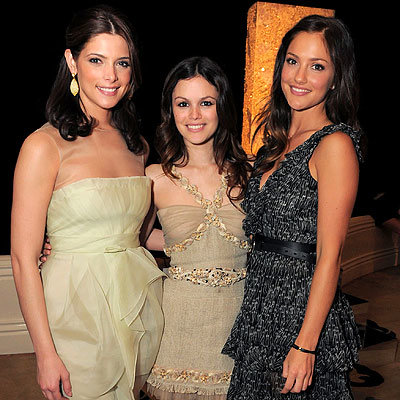 Ashley Greene, Rachel Bilson and Minka Kelly