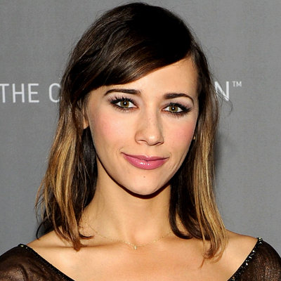Rashida Jones's Sideswept Bangs