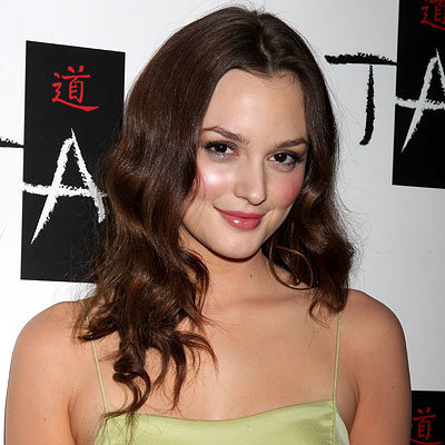 Leighton Meester's Soft Waves