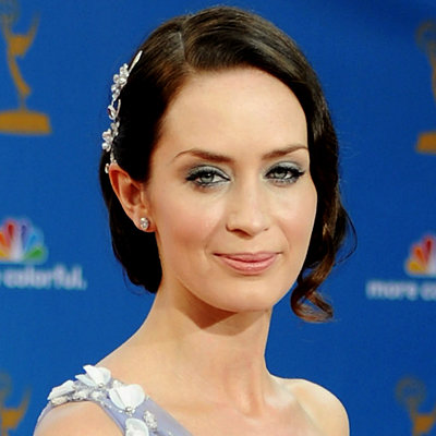 Emily Blunt's Jeweled Updo