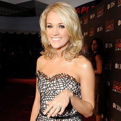 carrie underwood - wedding - badgley mischka