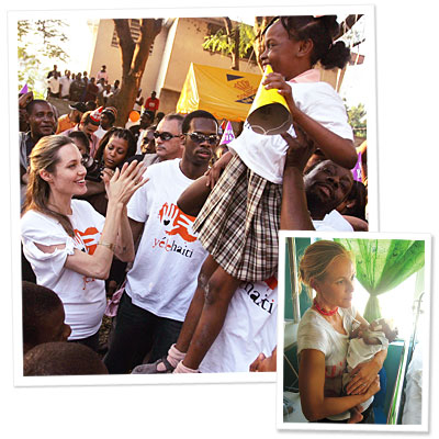 Hollywood Stars Step In to Help Haiti