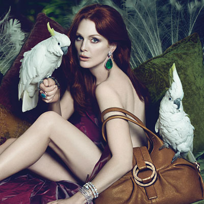 julianne moore - bulgari