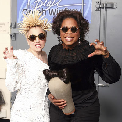 Lady Gaga Dishes To Oprah
