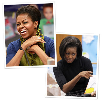 Michelle Obama's New Hairdo!