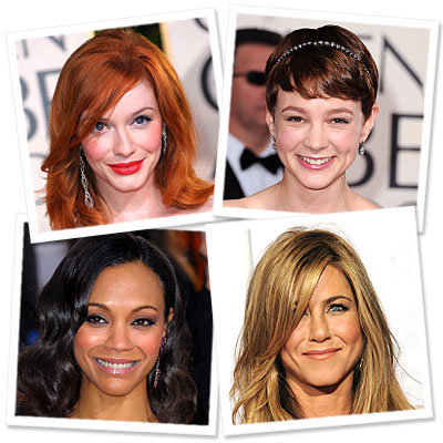 Try On Sexy Golden Globes Hairstyles