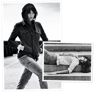 Liv Tyler Models in G-Star Ads
