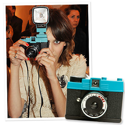 Alexa Chung's Favorite Retro-Style Camera