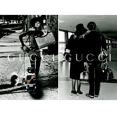 Gucci Ads Feature Sixties Icons
