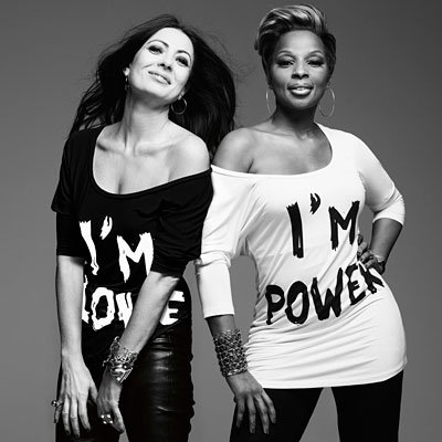 Mary J. and Malandrino Join Forces with T-Shirt Line