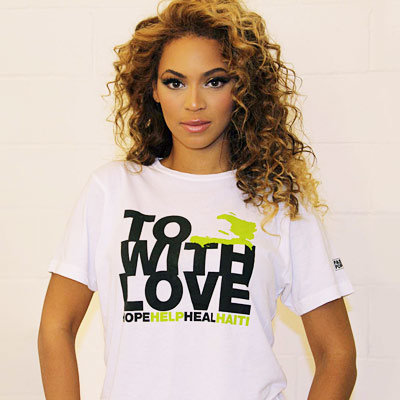 Beyonce Partners With the Fashion Industry to Help Haiti