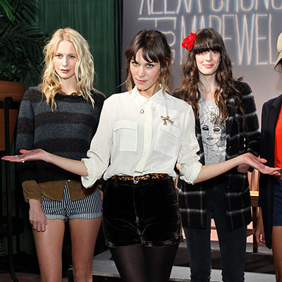 Alexa Chung Dishes on Her Madewell Collection
