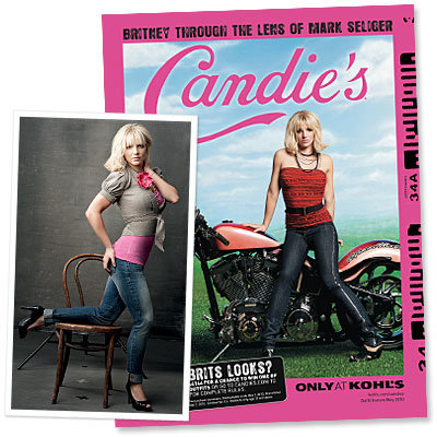 Britney Spears's New Candie's Ads