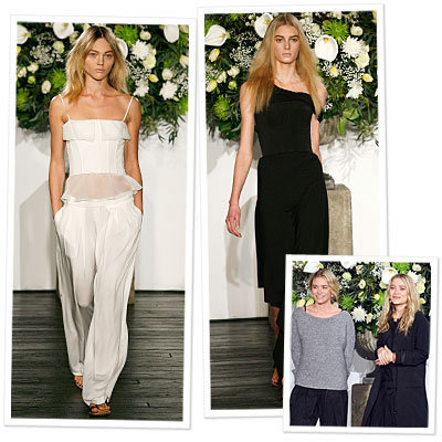The Olsens Present The Row at Fashion Week