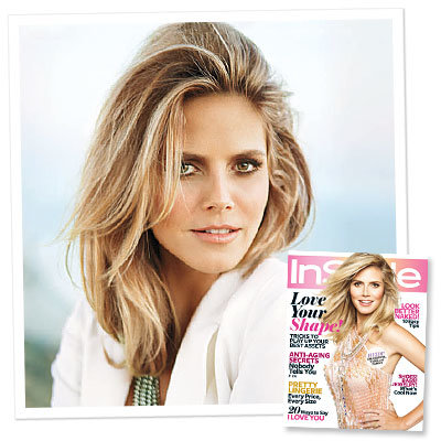 Heidi Klum Is Our February Cover Girl