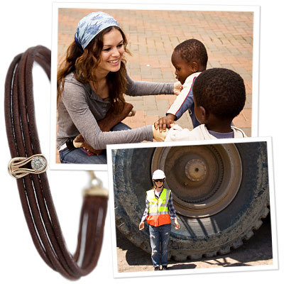EXCLUSIVE! Rachel Bilson Designs Charitable (And Chic!) Bracelet