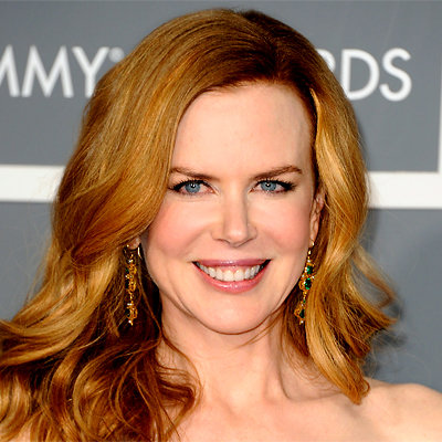 Nicole Kidman - 2011 Grammy Awards - hair