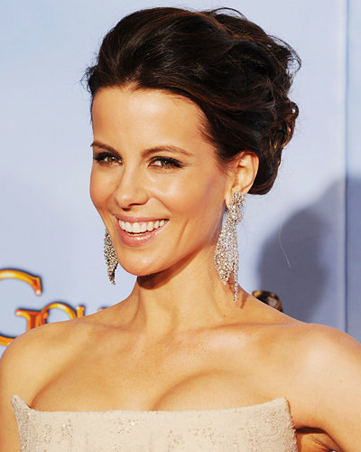 Kate Beckinsale - Golden Globes - Hair and Makeup