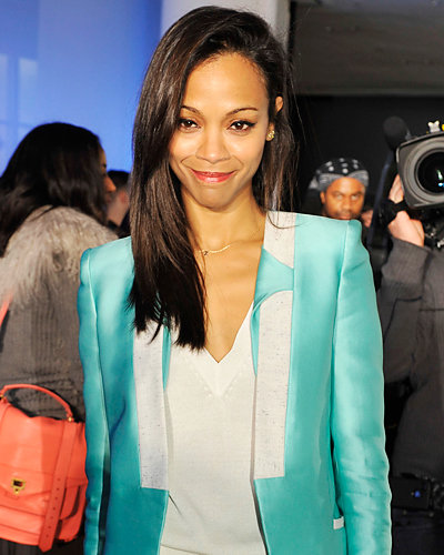 Zoe Saldana - Fashion Week
