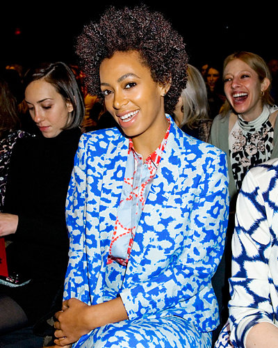 Solange Knowles - Fashion Week