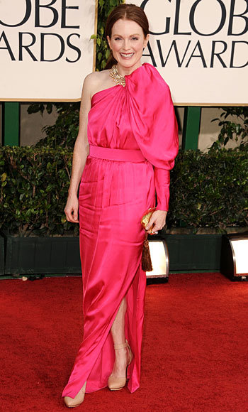Julianne Moore - Lanvin - Bulgari - Golden Globes 2011