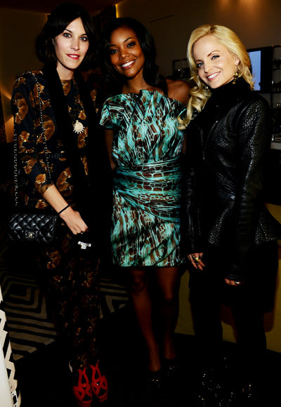 Alexa Chung, Gabrielle Union and Mena Suvari