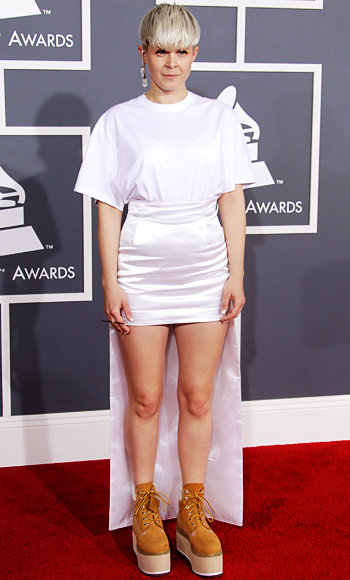 Robyn - Grammy Awards 2012 - Calvin Klein