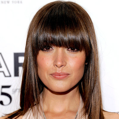 Rose Byrne's Rounded Fringe