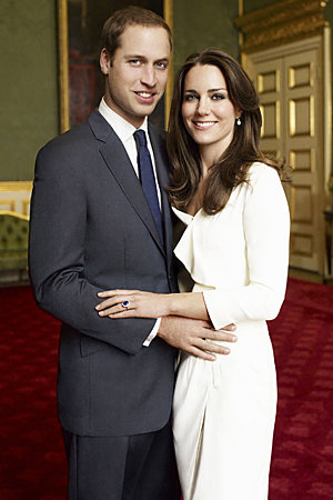 Kate Middleton - Prince William - The Hottest Celebrity Engagement Rings