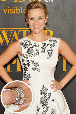 Reese Witherspoon - Jim Toth - The Hottest Celebrity Engagement Rings