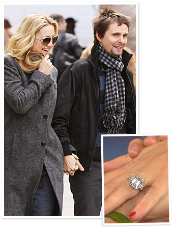 Kate Hudson - Matthew Bellamy - The Hottest Celebrity Engagement Rings