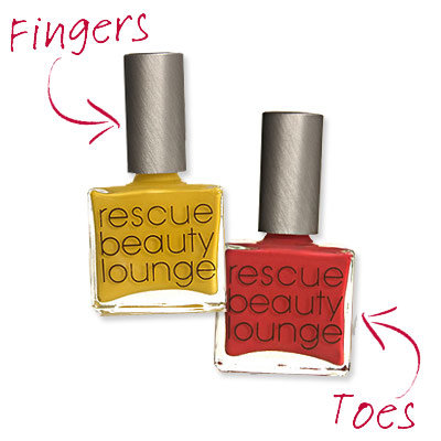 Ji Baek - Colorblocking - Cute Nail Polish Combos for Your Fingers and Toes