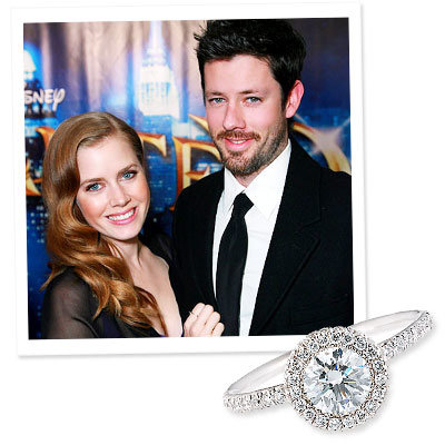 Amy Adams - Darren Legallo - Jean Dousset - The Hottest Celebrity Engagement Rings