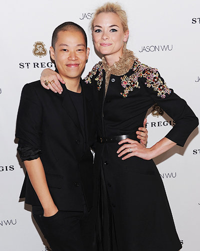 Jason Wu and Jaime King