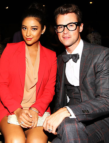 Shay Mitchell and Brad Goreski