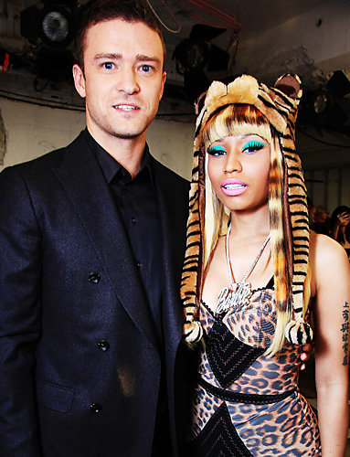 Justin Timberlake and Nicki Minaj
