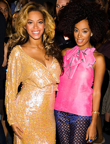 Beyoncé and Solange Knowles