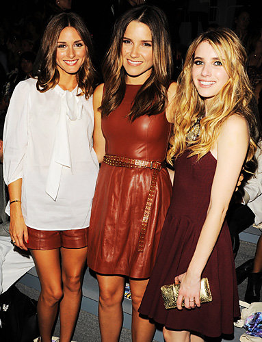Olivia Palermo, Sophia Bush and Emma Roberts