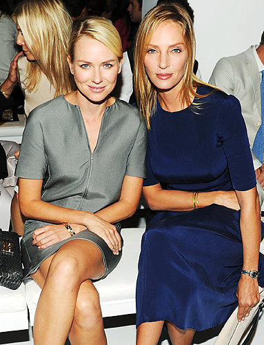 Naomi Watts and Uma Thurman