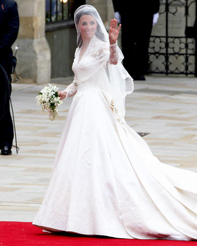 Kate Middleton Wedding Dress - Alexander McQueen