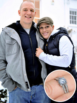 Zara Phillips - Mike Tindall - The Hottest Celebrity Engagement Rings
