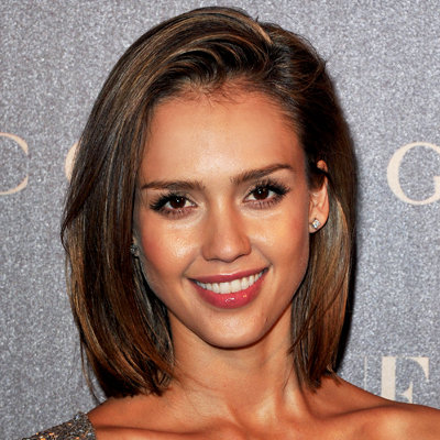 Jessica Alba - Vogue Paris Dinner - bob - hair