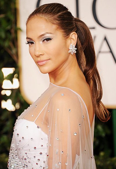 Jennifer Lopez - Harry Winston - Best Golden Globes Jewelry