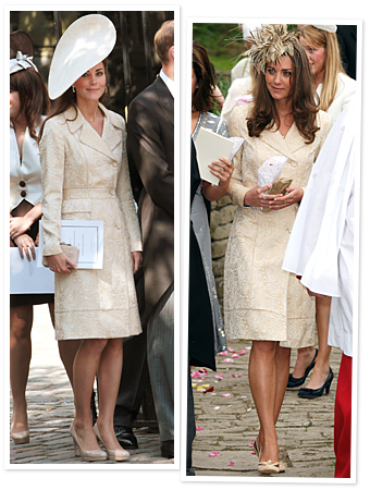 Duchess Catherine's Royal Wedding Double Take