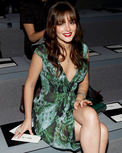 Leighton Meester - Fashion Week